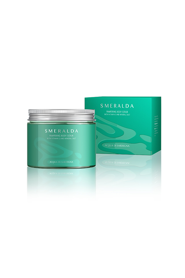 SMERALDA WOMAN - PAMPERING BODY SCRUB - WITH VITAMIN E AND MINERAL SALT 0.00 ML