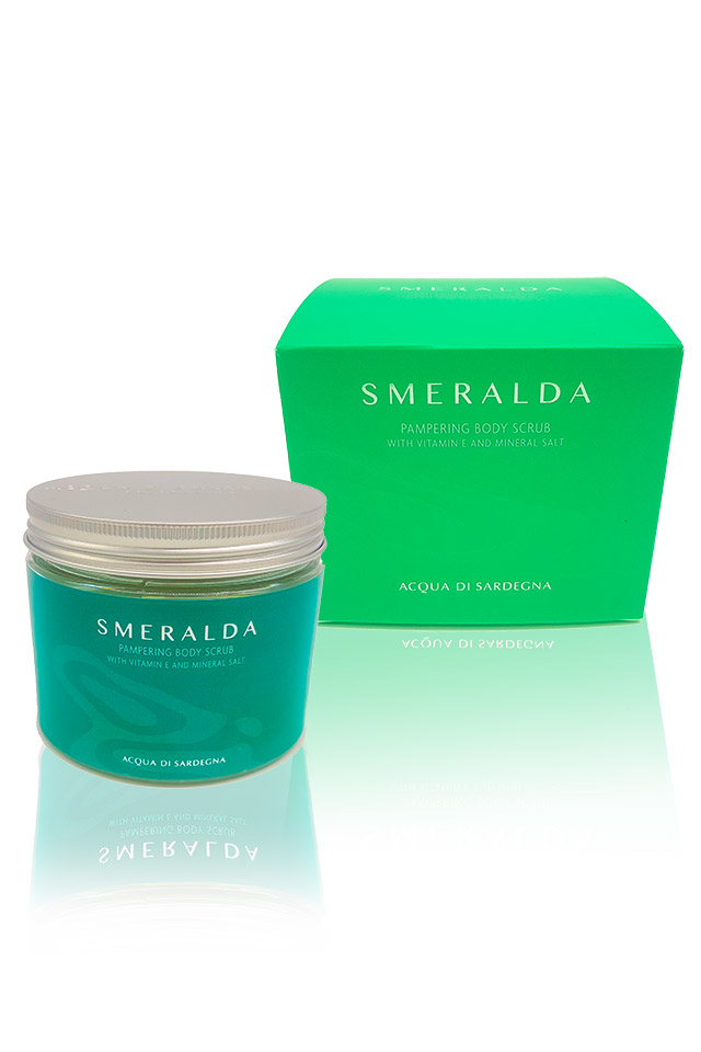 SMERALDA WOMAN - PAMPERING BODY SCRUB - WITH VITAMIN E AND MINERAL SALT 0.0 ML