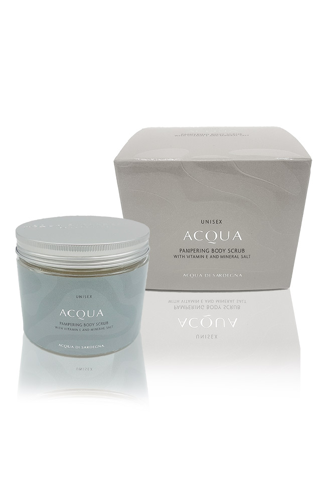 ACQUA DI SARDEGNA -  PAMPERING BODY SCRUB - UNISEX 400 GR 0,0 ML
